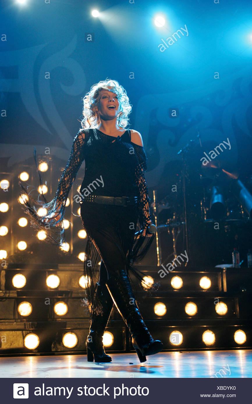 LaFee, German pop singer, live at Club X-tra in Zurich, Switzerland - Stock Image