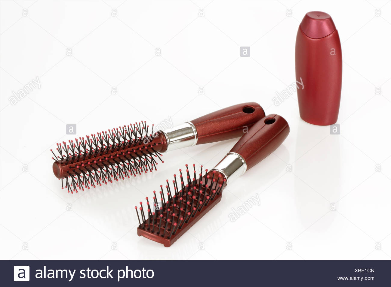 hair care products - Stock Image