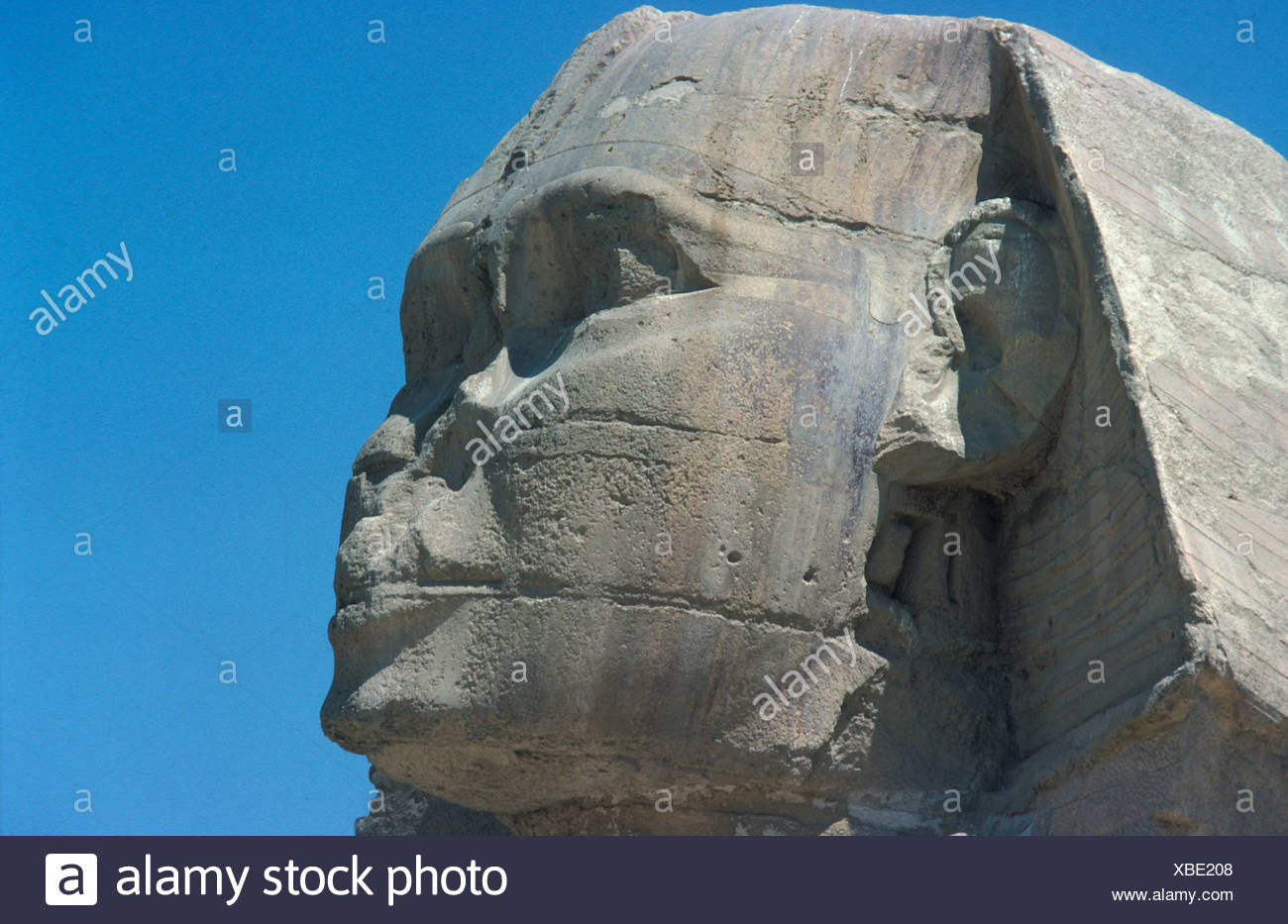 Egypt / Archaeology The Sphinx, Gizeh, Egypt - Stock Image