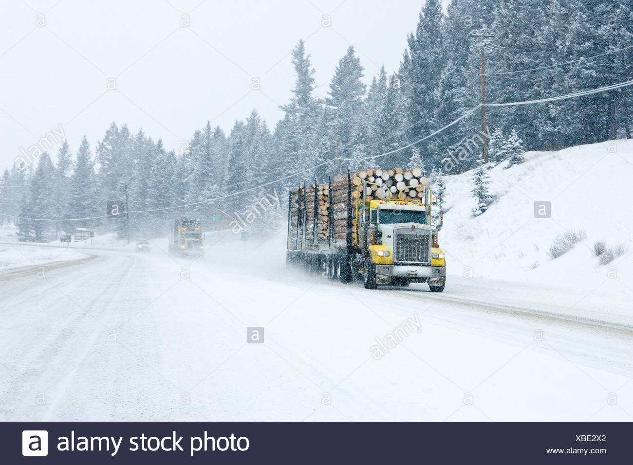 Winter Roads Stock Photos & Winter Roads Stock Images - Alamy