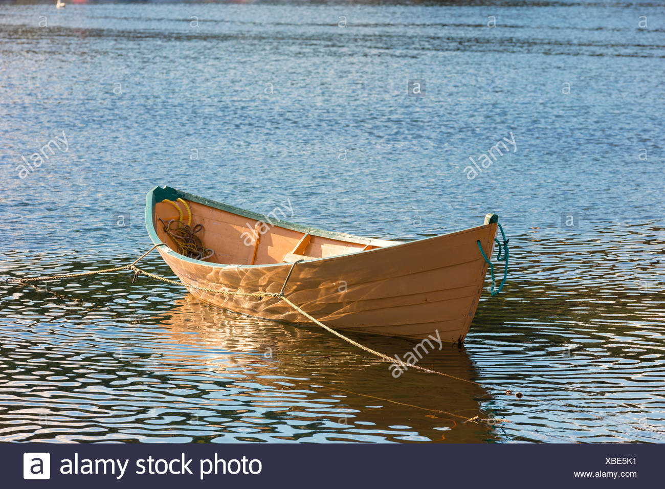 Wooden Boat, Brigus South, Newfoundland, Canada - Stock Image