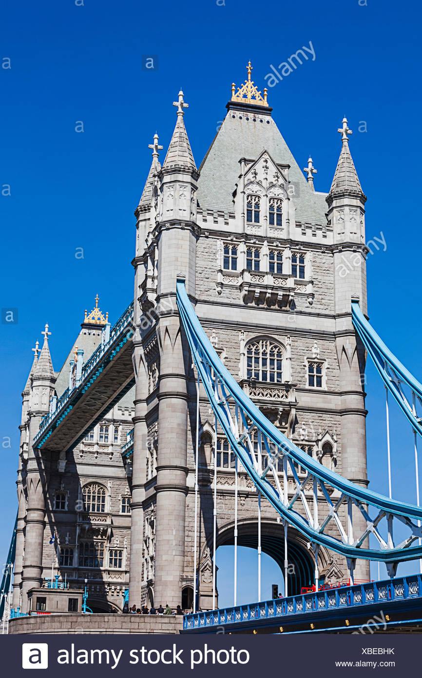 England, London, Tower Bridge - Stock Image