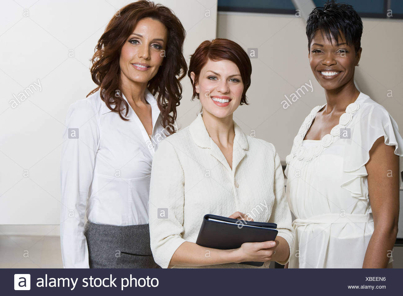 Multi Racial Group of Businesswomen, Portrait - Stock Image