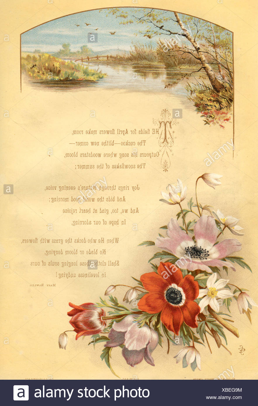 Spring Poem Stock Photos Spring Poem Stock Images Alamy