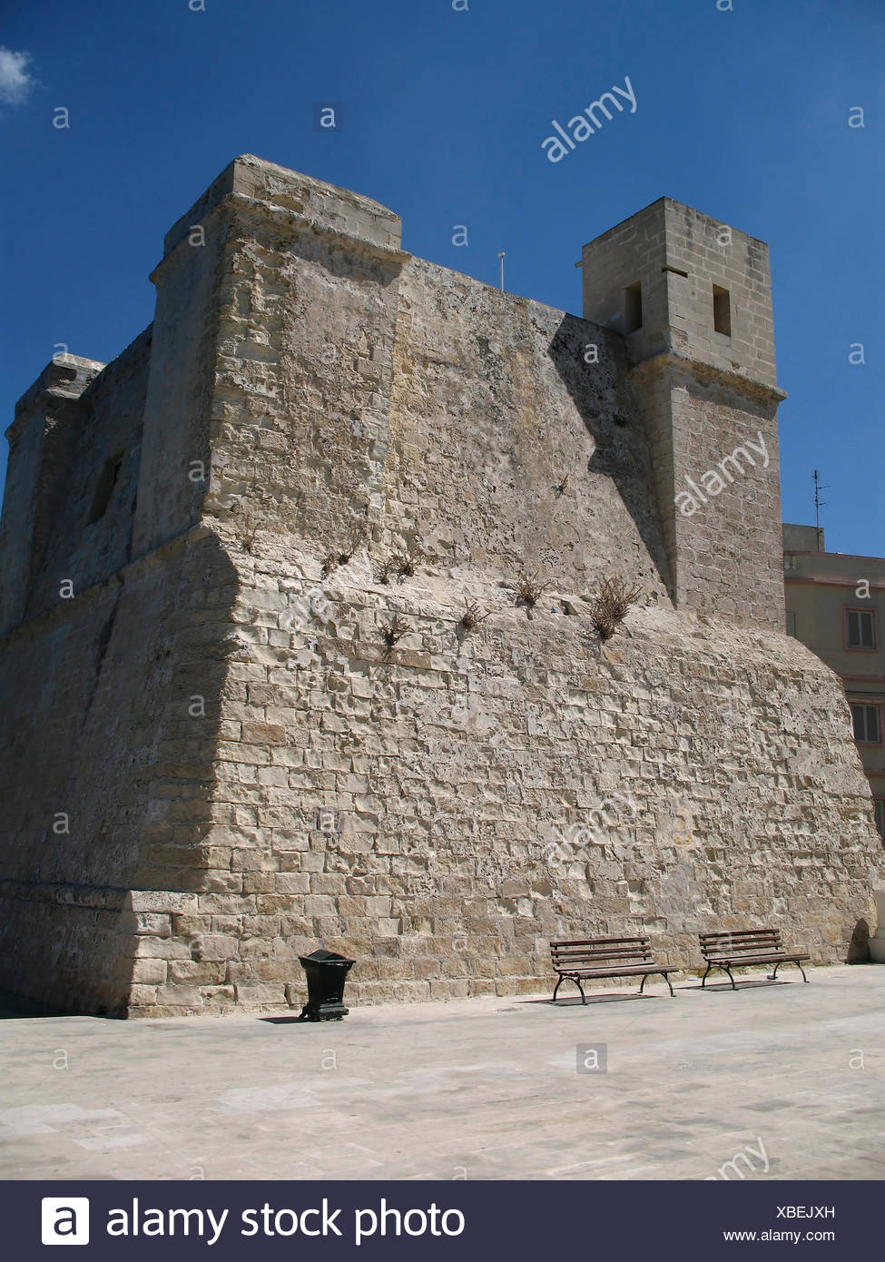 wignacourt tower befesttigungsanlage verteidigung tempelritter mittelalter st - Stock Image