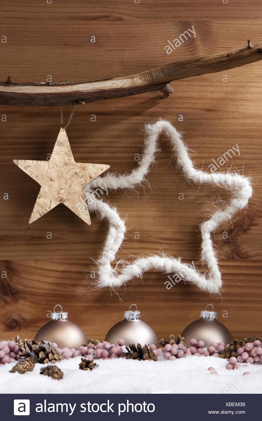 Braune Christbaumkugeln.Christmas Tree Balls Stock Photo 282450204 Alamy