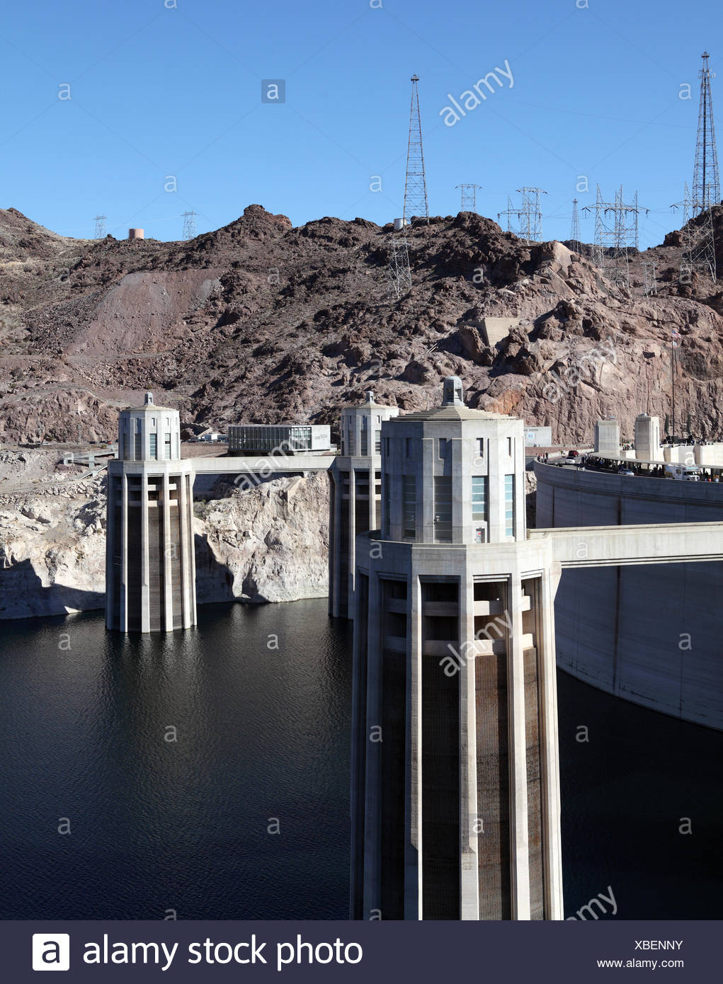 Hoover Damm - Stock Image