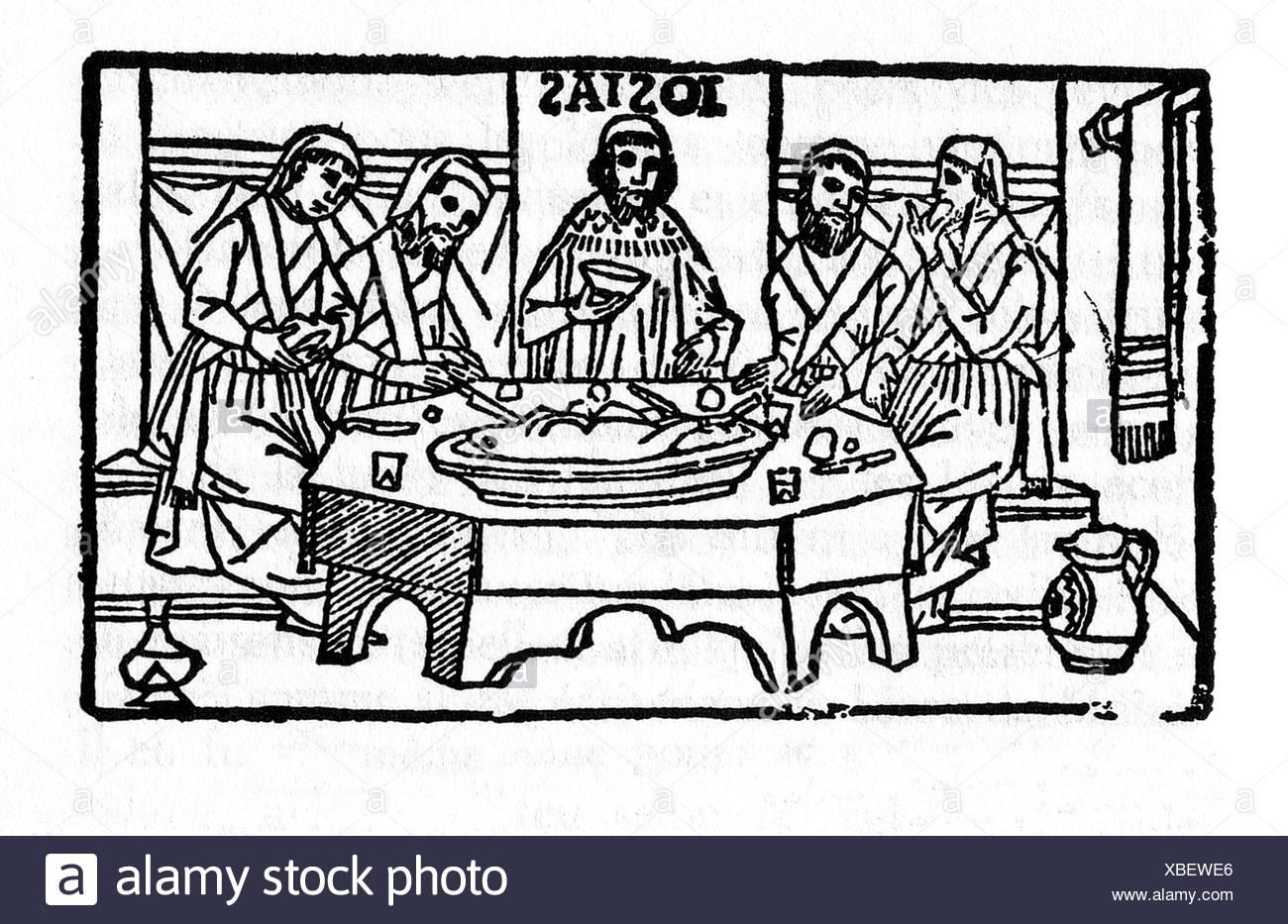 Josiah keeps a Passover to Yahweh in Jerusalem  Italian