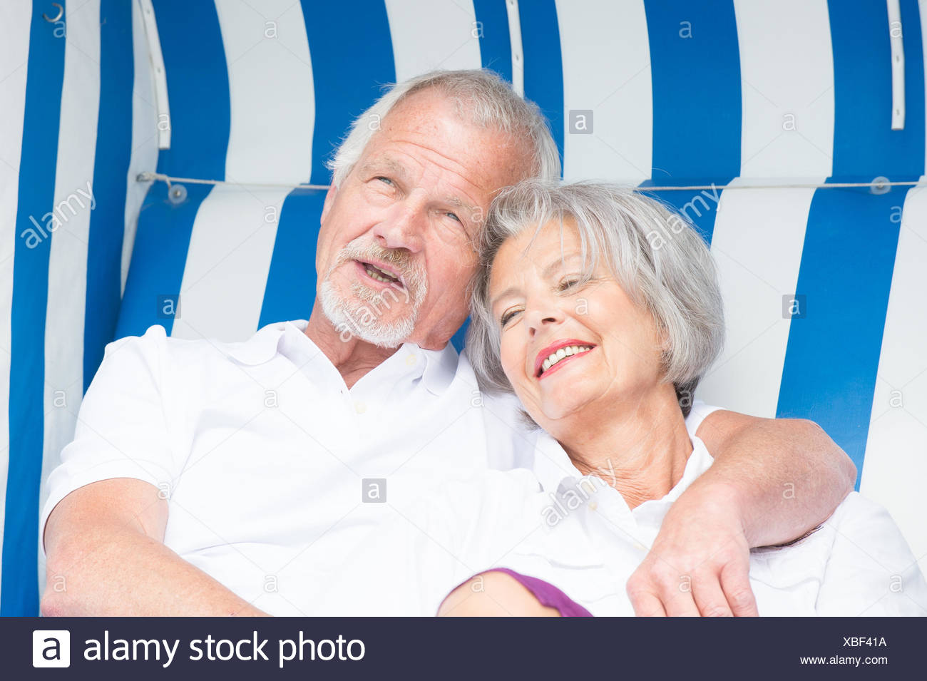 oap couple - Stock Image