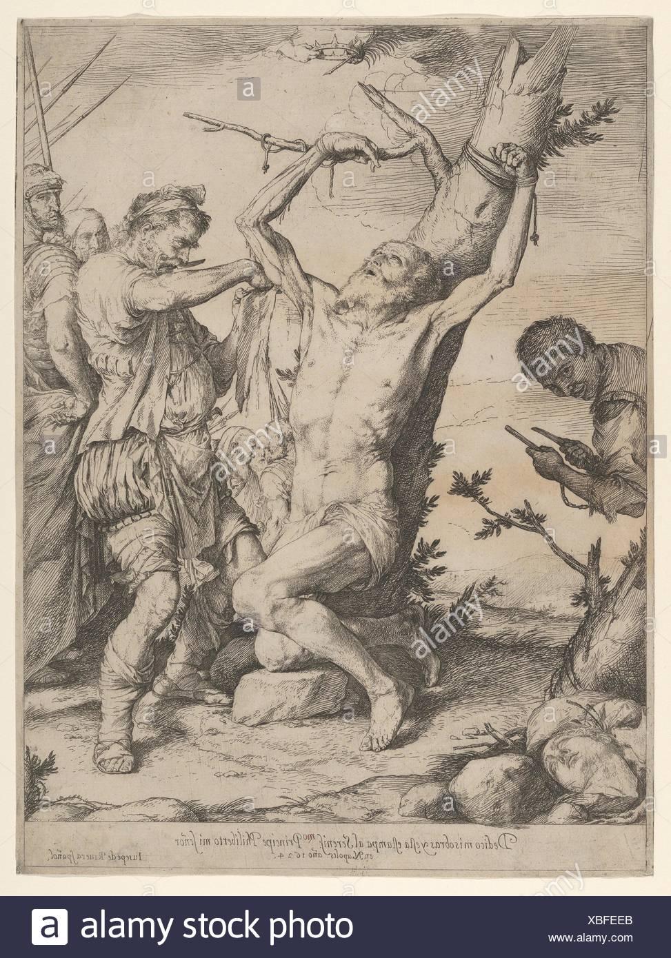 Artist: Jusepe de Ribera (called Lo Spagnoletto) (Spanish, Jótiva 1591-1652  Naples); Date: 1624; Medium: Etching