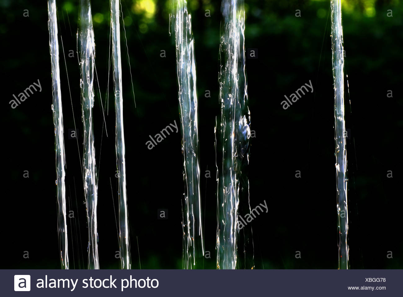 water Curtain - Stock Image