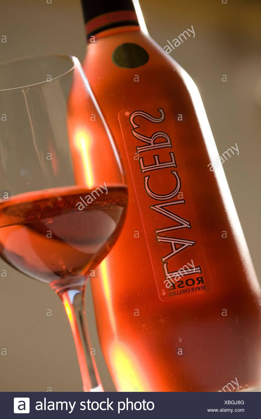 Lancers wine, Bodega Jose Maria Fonseca, Vila Nogueira de Azeitão, Setœbal, Portugal, Europe - Stock Image