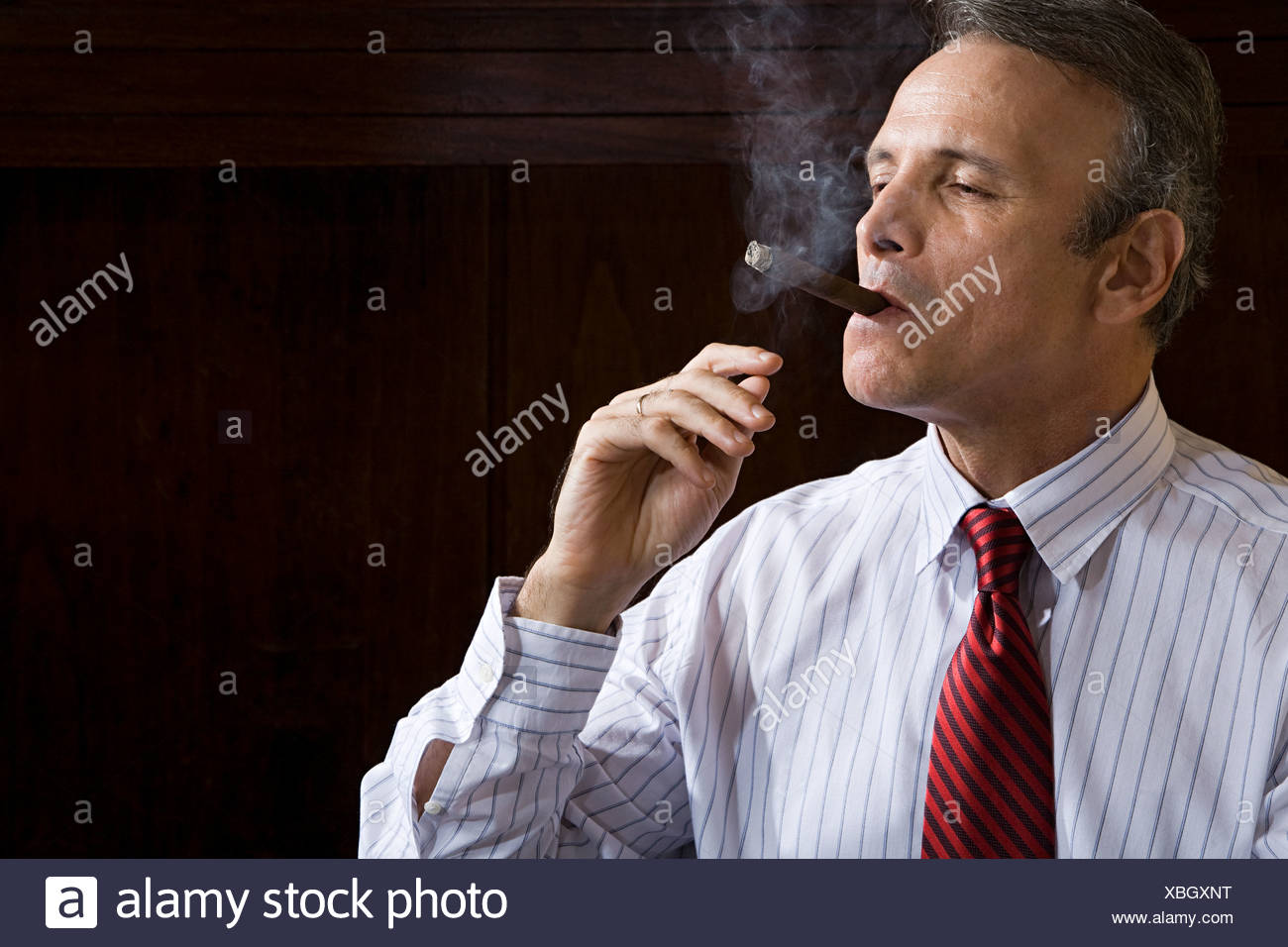 Smoking Cigar Stock Photos & Smoking Cigar Stock Images