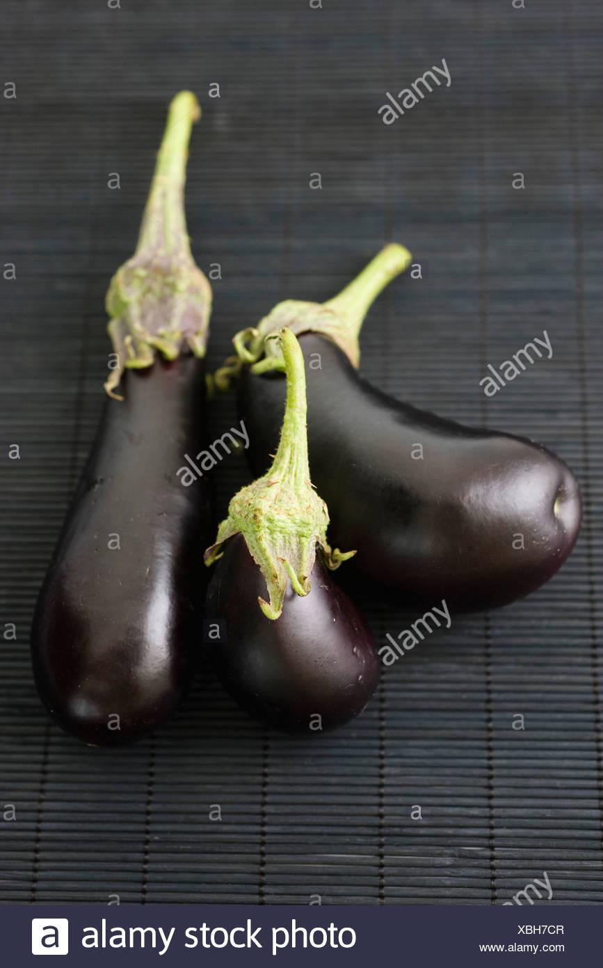 Eggplants - Stock Image