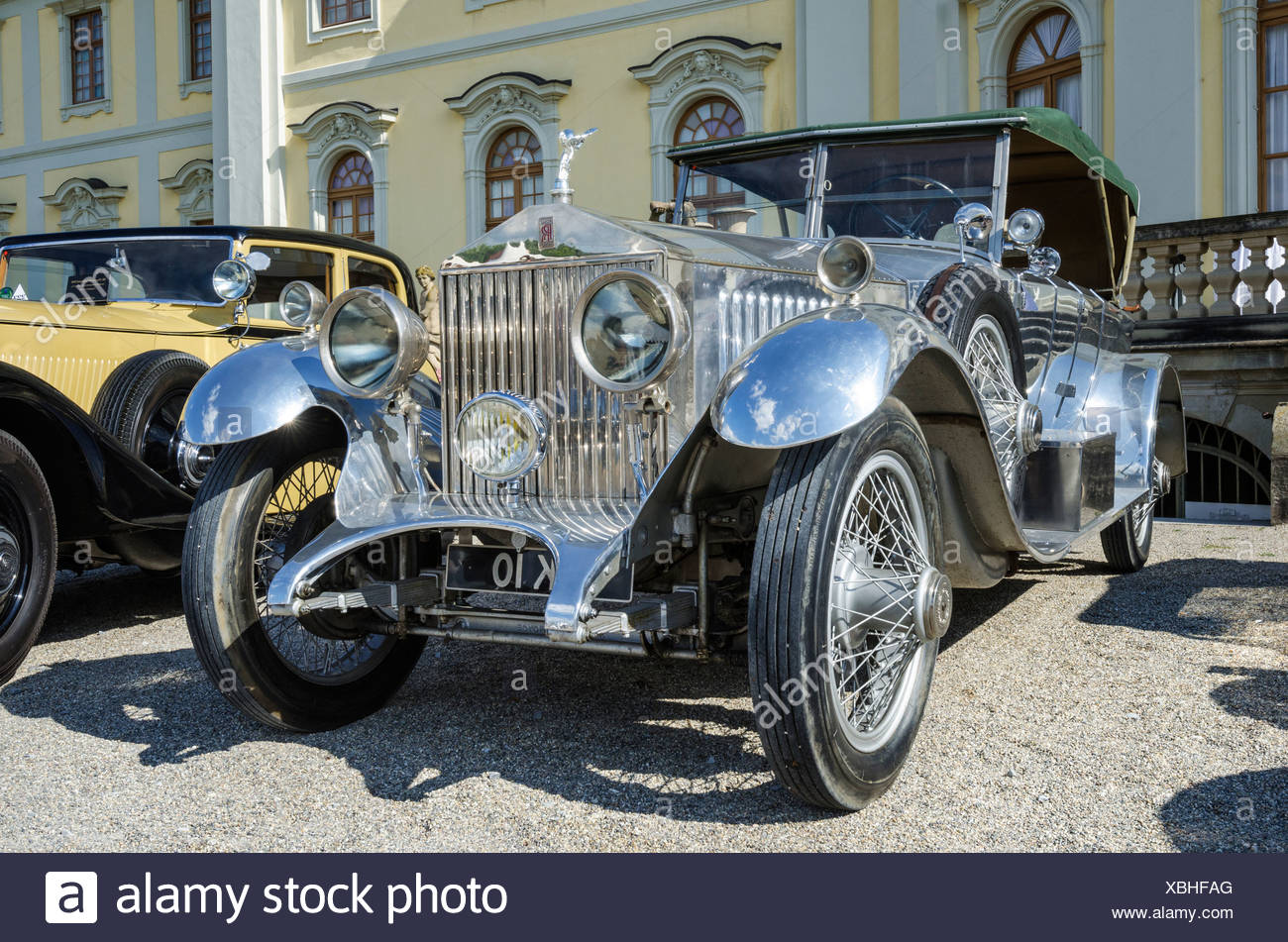 Rolls-Royce Silver Ghost, USA, built from 1921, festival of classic ...