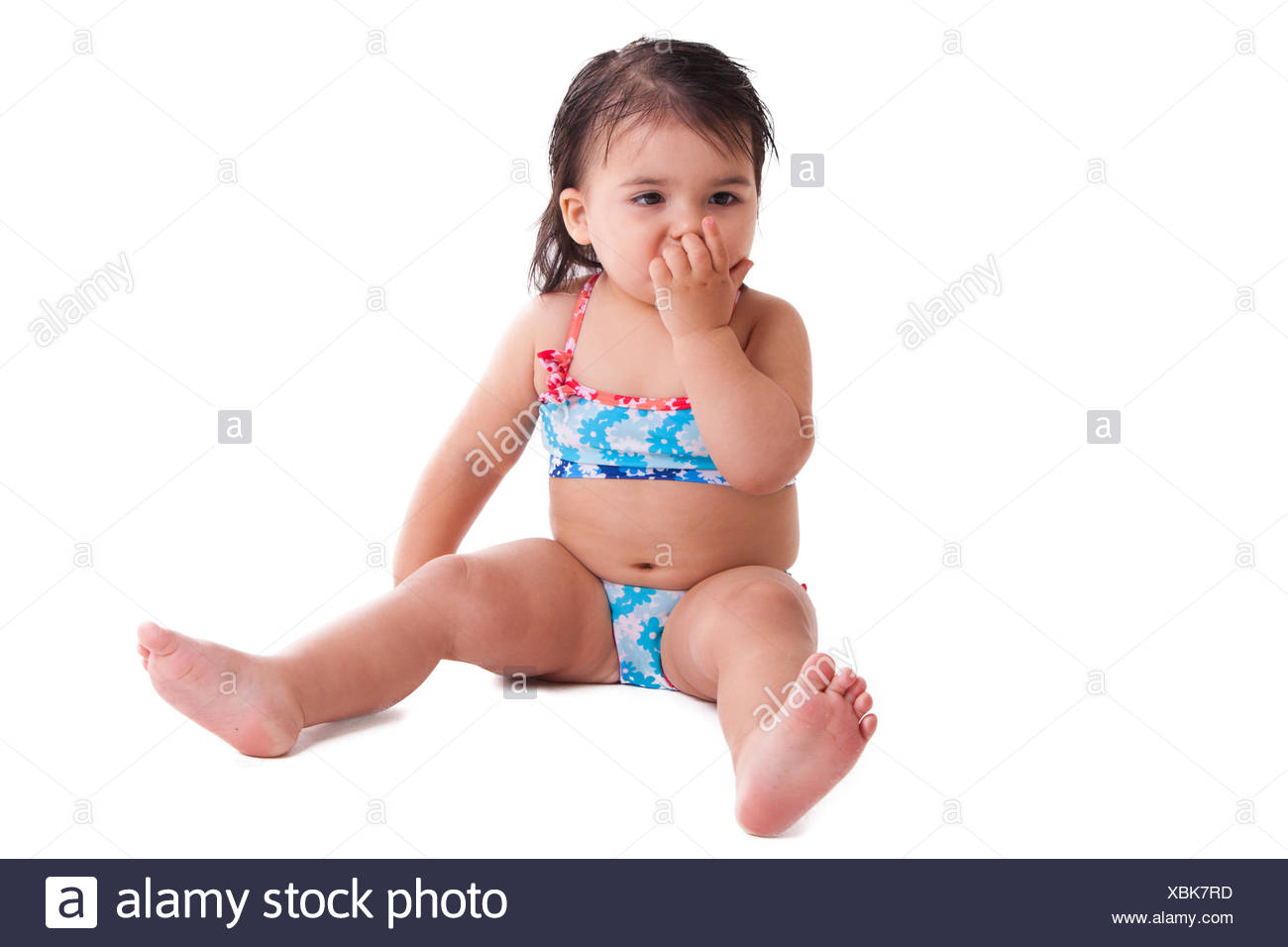 Pink Swimming Suit Stock Photos Pink Swimming Suit Stock Images