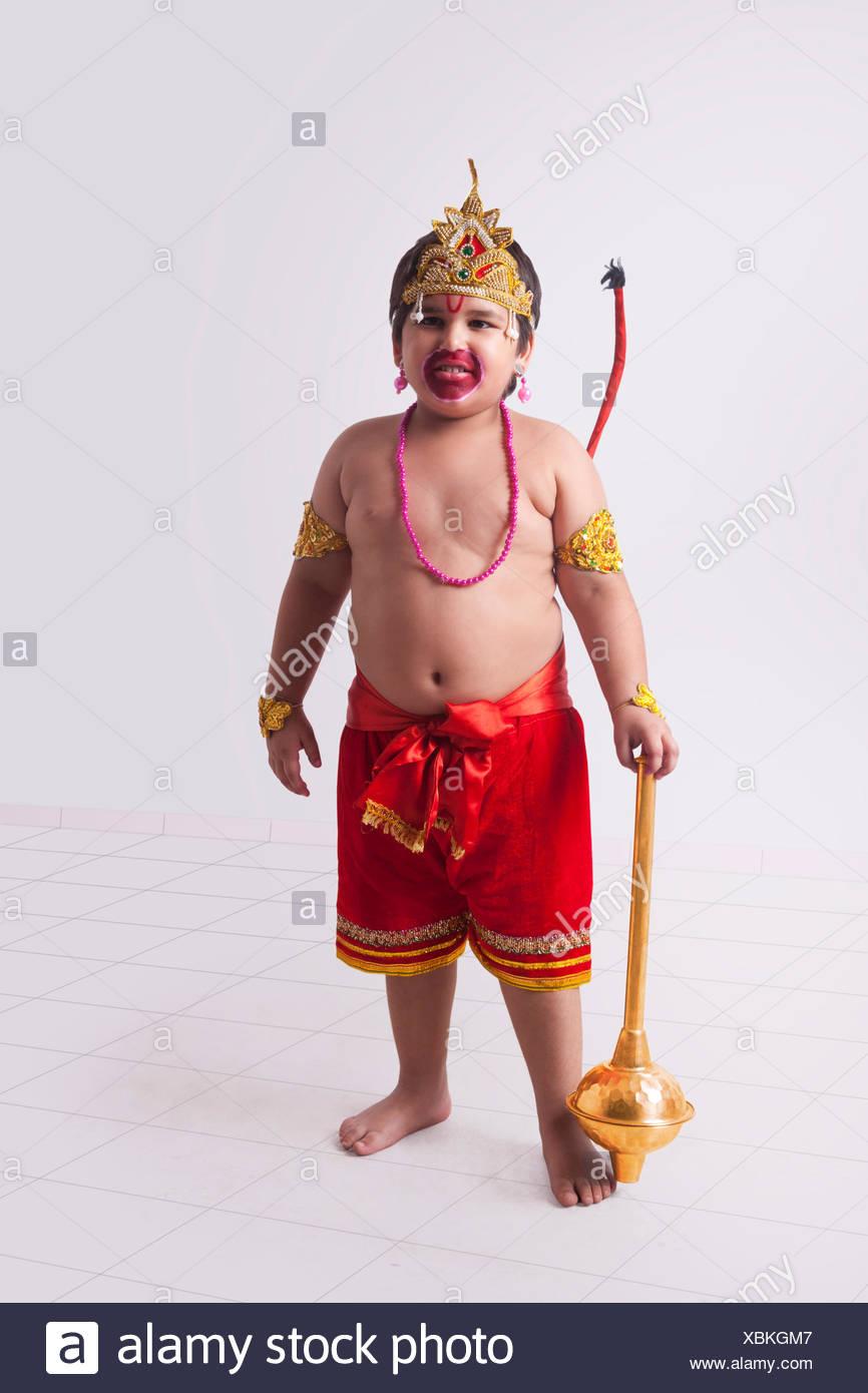 Hanuman Gada Stock Photos & Hanuman Gada Stock Images - Alamy