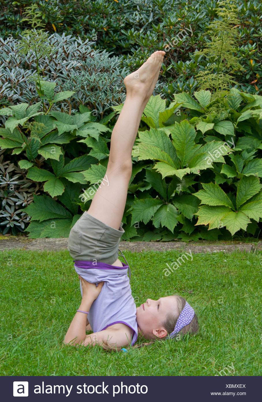 yoga - Stock Image