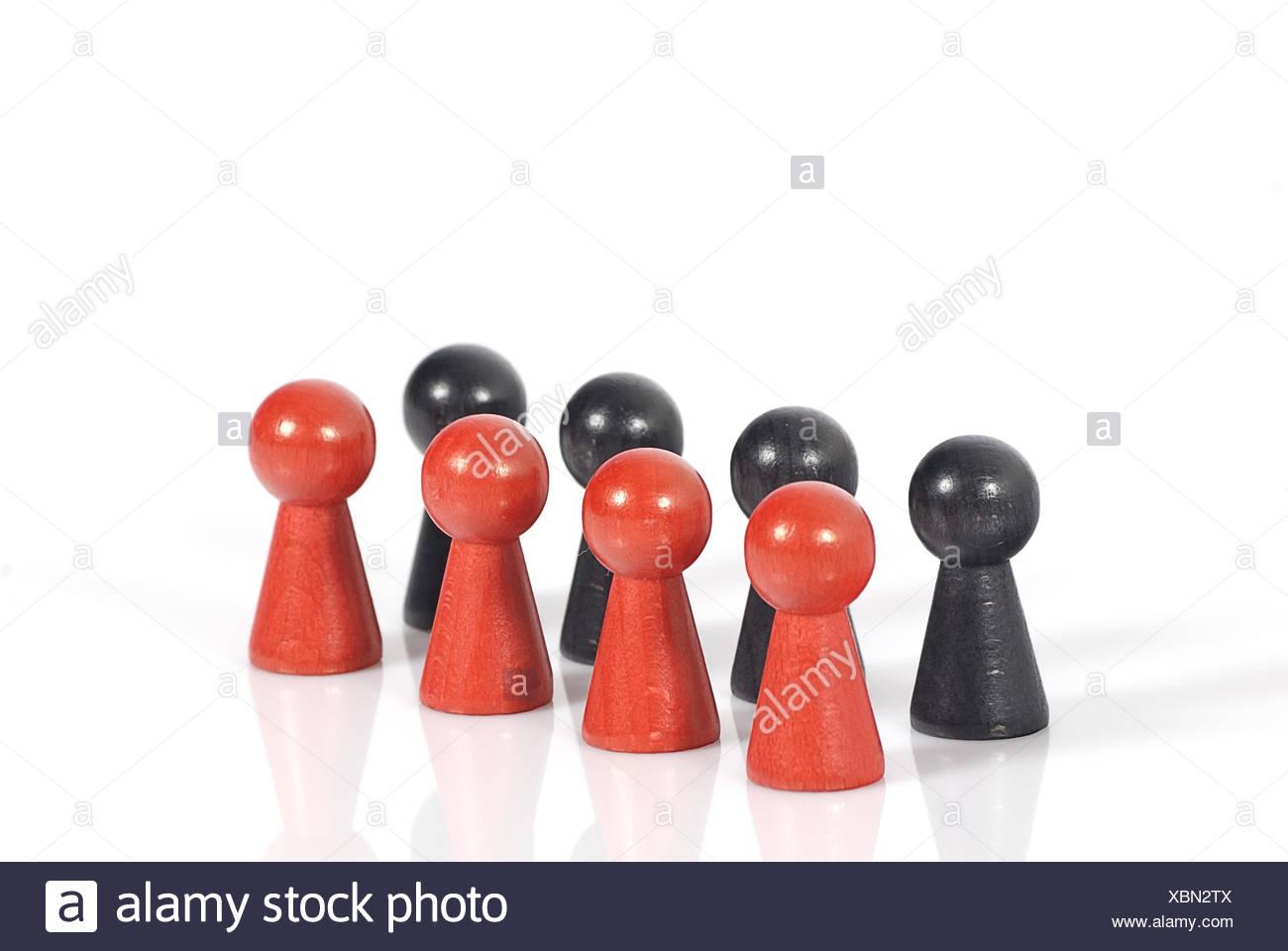 große koalition - big coalition - Stock Image