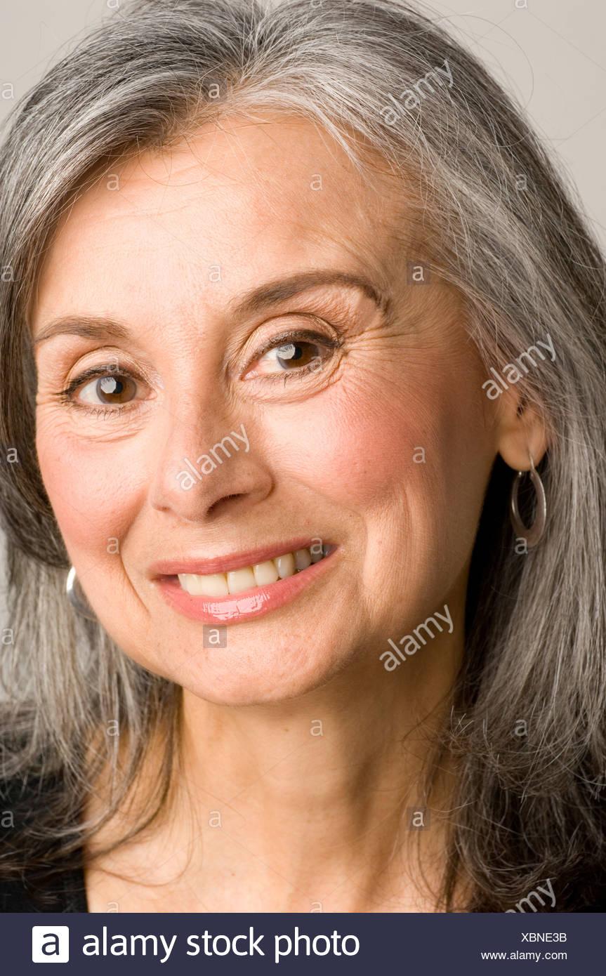 Facial mature shot