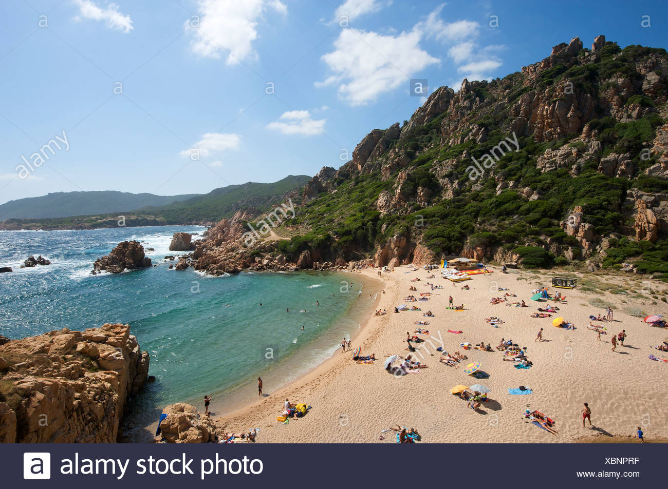 Li Cossi beach, Costa Paradiso, Sardinia, Italy, Europe Stock Photo