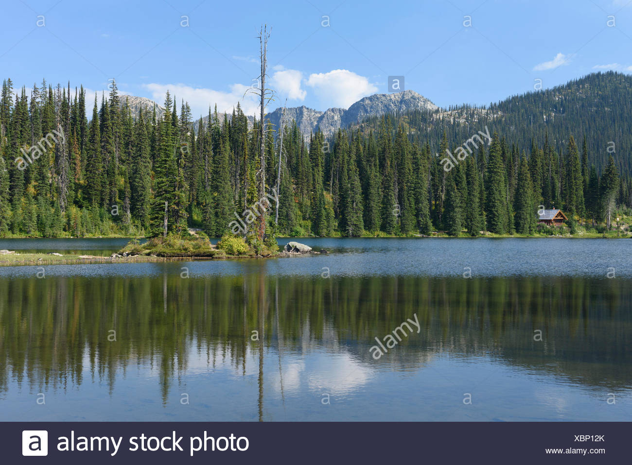 Selkirk Mountains - Stock Image