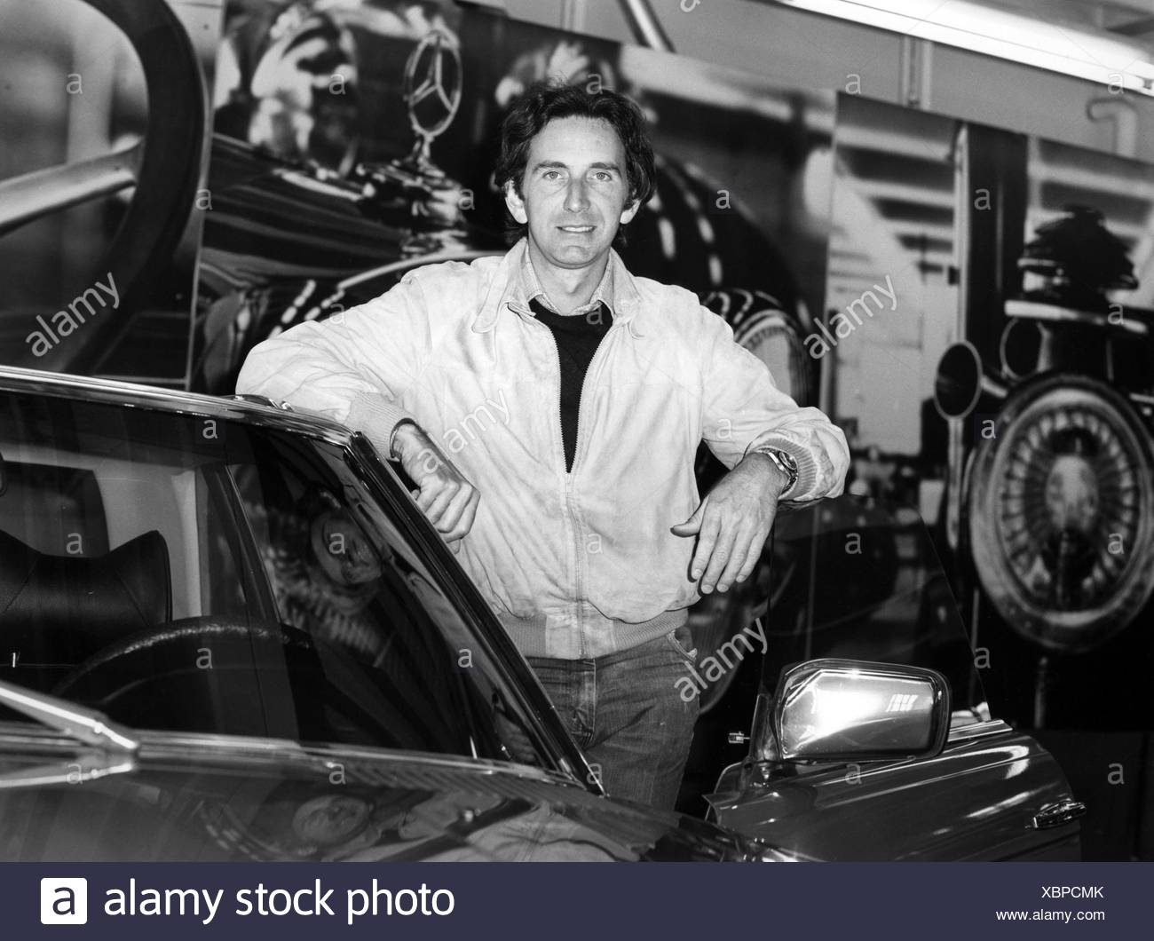Watson, John Marshall 'Wattie', * 4.5.1946, Britisch racing driver, half length, 1990s, Additional-Rights-Clearances-NA - Stock Image