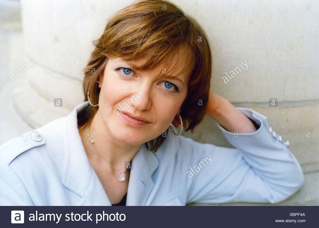 Hummel, Eleonora, * 1970, German author / writer, portrait, International PEN Congress, Berlin, 22. - 28.5.2006, Additional-Rights-Clearances-NA - Stock Image