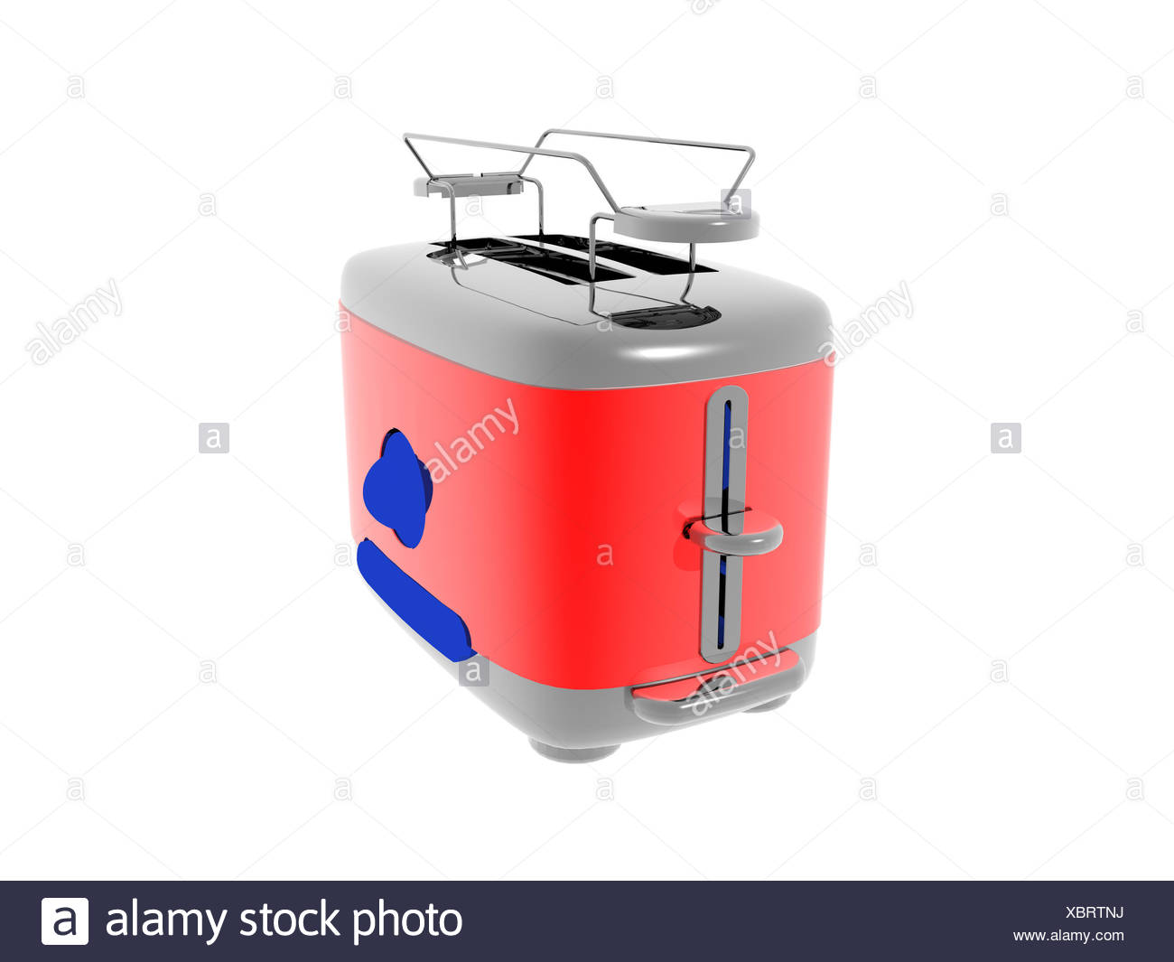 exempted toaster - Stock Image