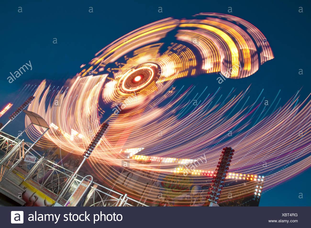 Amusement Park - Stock Image