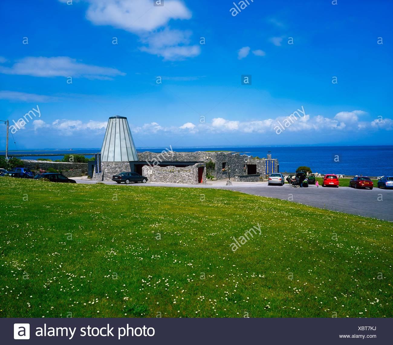 The Burren Exposure, Ballyvaughan, The Burren, Co Clare, Ireland - Stock Image