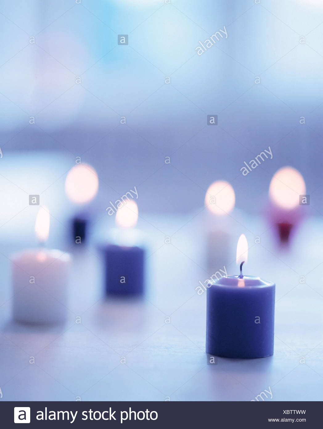 Skyers Burn Blur Odour Candles Flames Light Candle