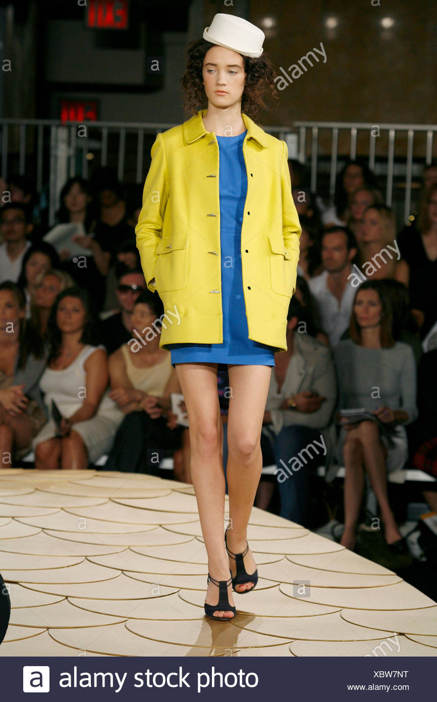 cb6537c241 Phillip Lim New York Ready to Wear Spring Summer Yellow and Blue Nautical  style  White