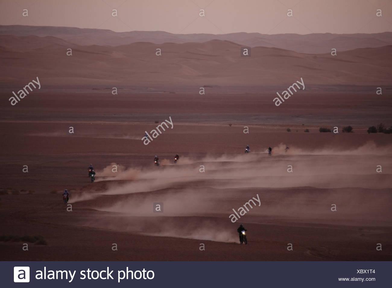 algeria desert wasteland - Stock Image
