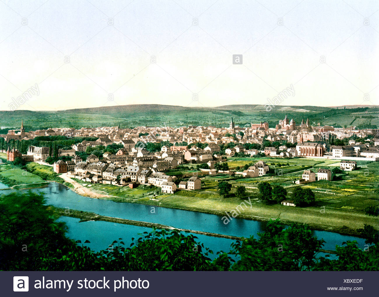 Trier Mosel - Stock Image