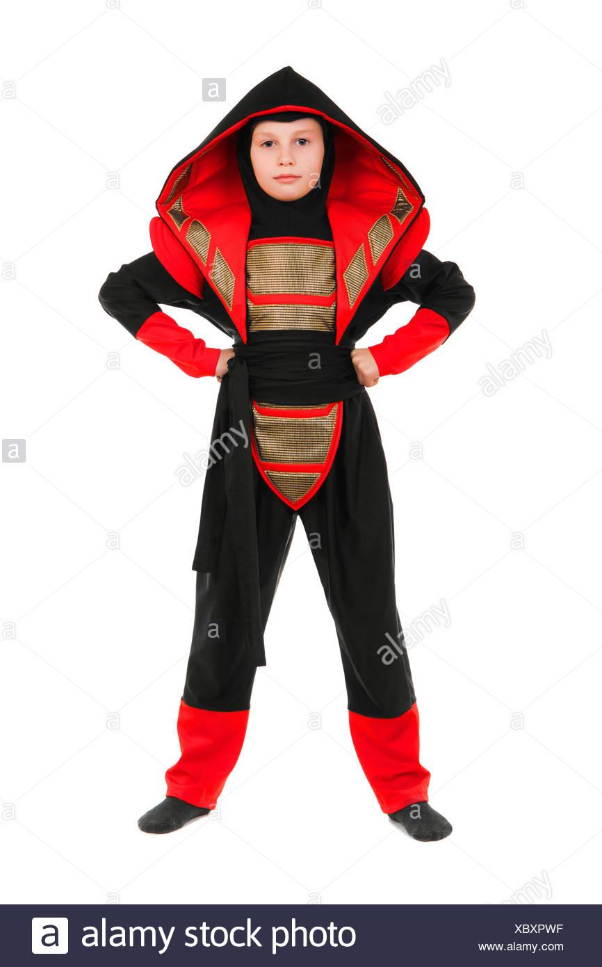 ninja kid stock photos & ninja kid stock images - alamy