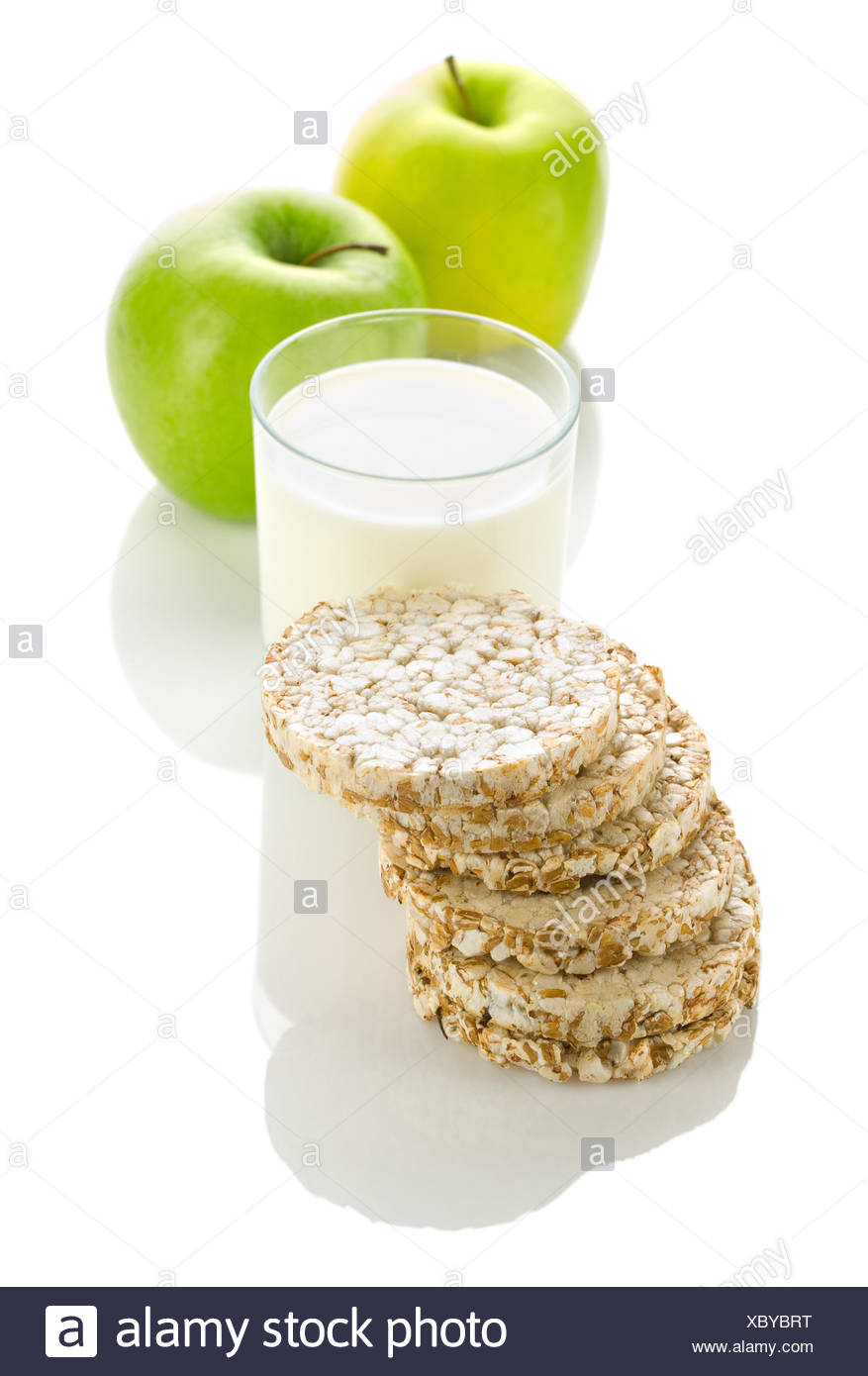 composition of dietary food - Stock Image