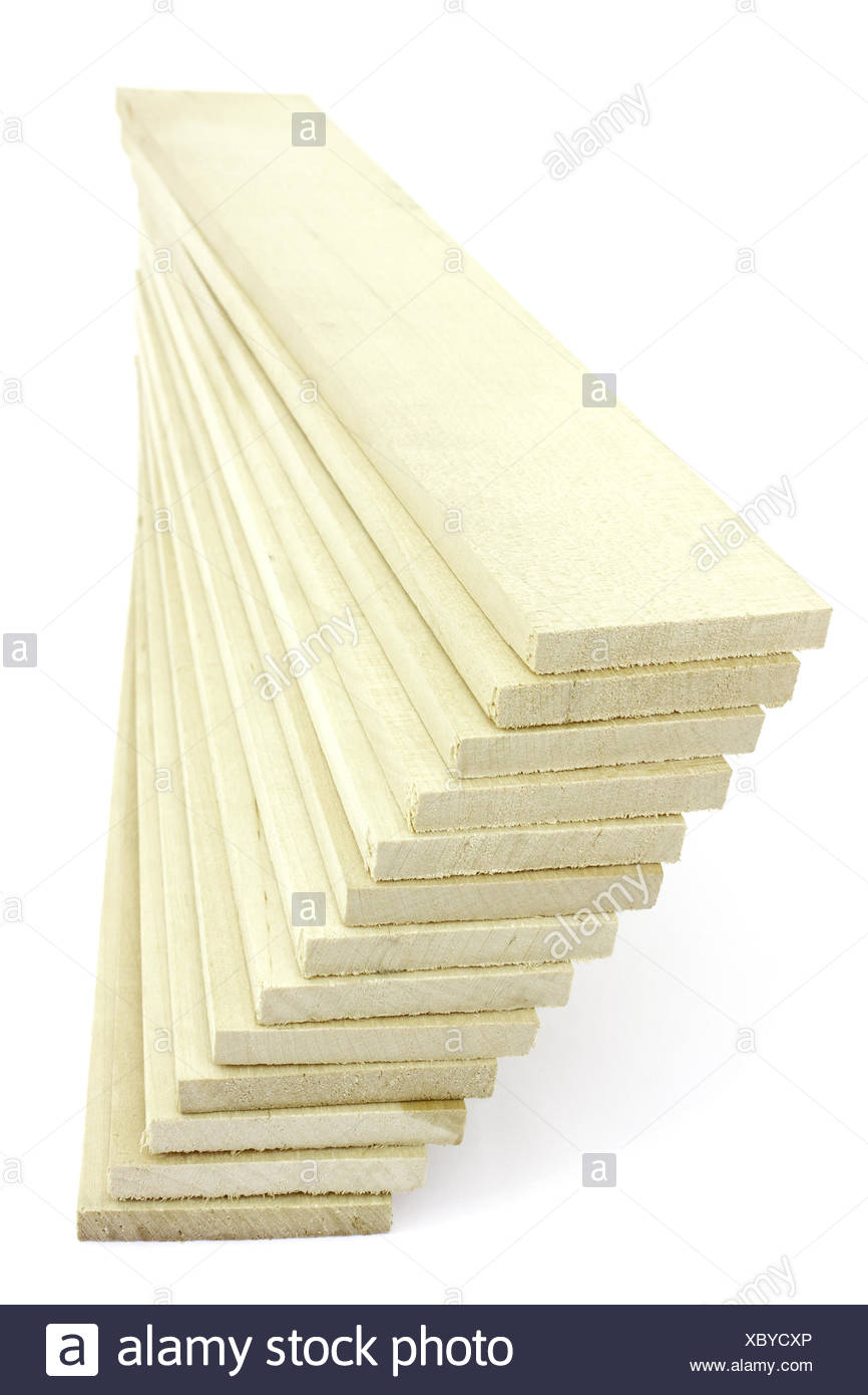 A lot  wooden planks - Stock Image