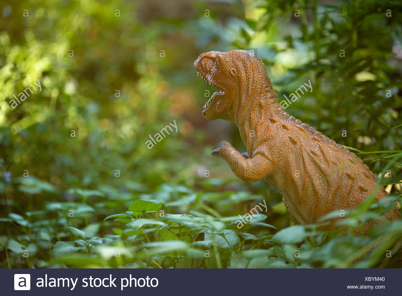 Toy dinosaur - Stock Image