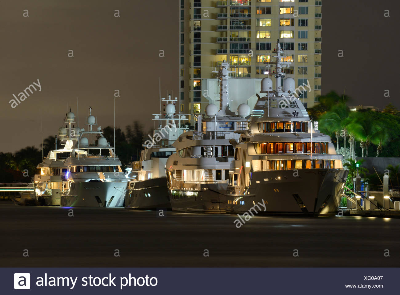 USA, Florida, Broward County, Fort Lauderdale Stock Photo