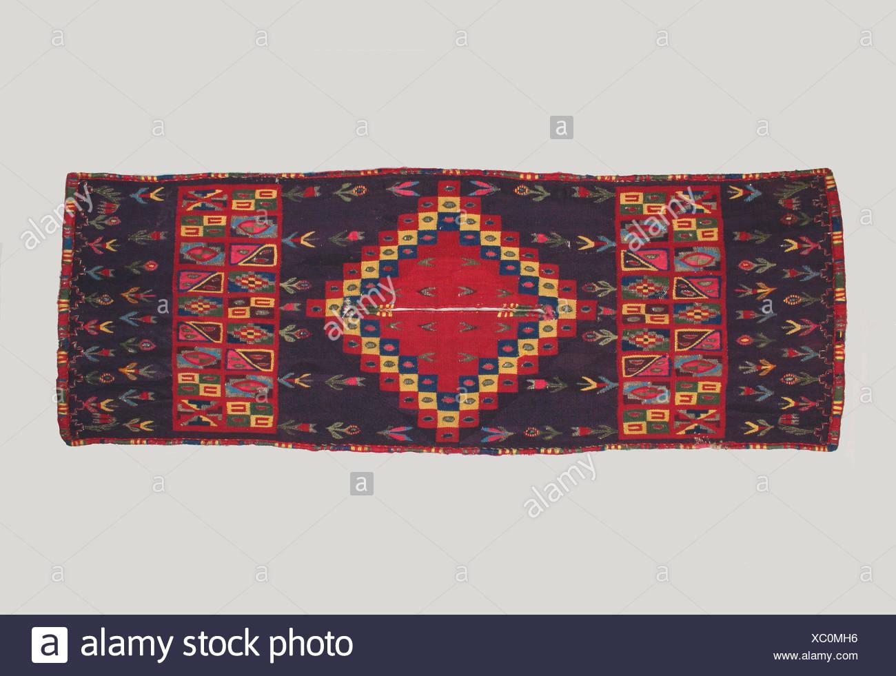 Miniature Tunic (Uncu). Date: 17th-18th century; Geography: Bolivia or Peru; Culture: Potosi (?); Medium: Cotton, camelid hair, silk, metal; - Stock Image