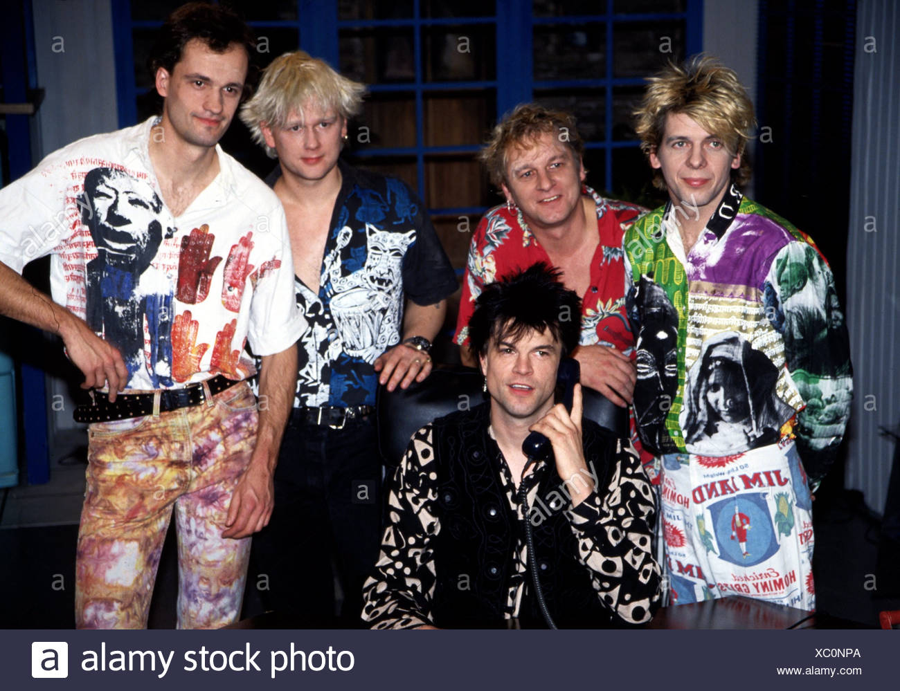Die Toten Hosen, German punk band, group picture, 1993,  Additional-Rights-Clearances-NA