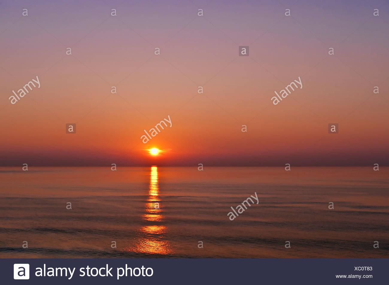 Sunrise, Cape Cod National seashore, Chatham, Cape Cod, MA, - Stock Image