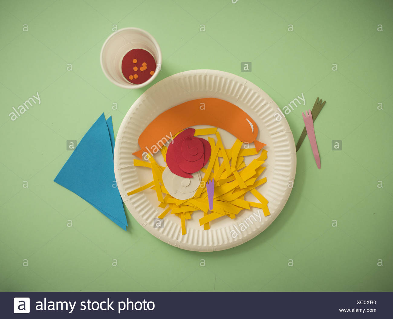 Junk Food - Stock Image