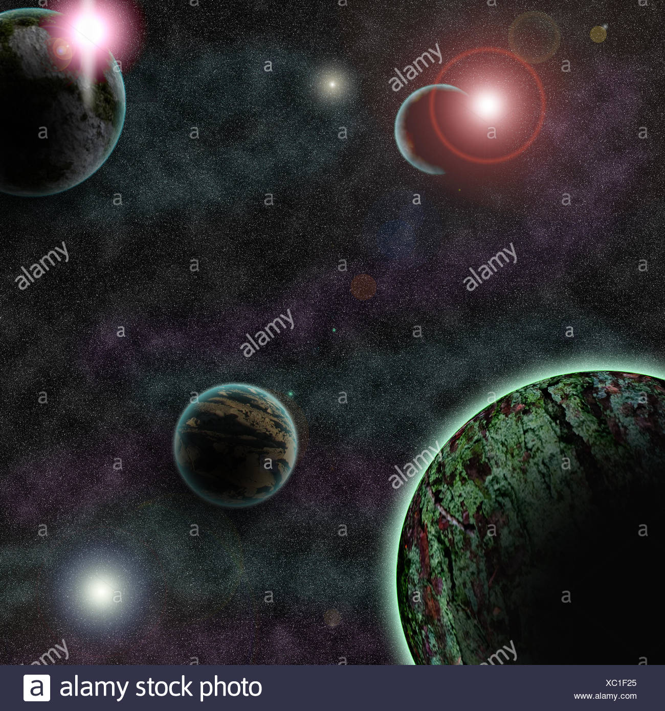 outer space - Stock Image