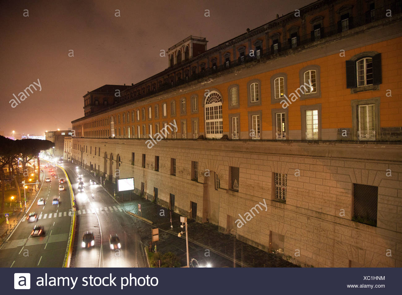 Campania, Golf von Neapel, Italien, Kampanien, Meer, Mittelmeer, Neapel, Palazzo Reale - Stock Image