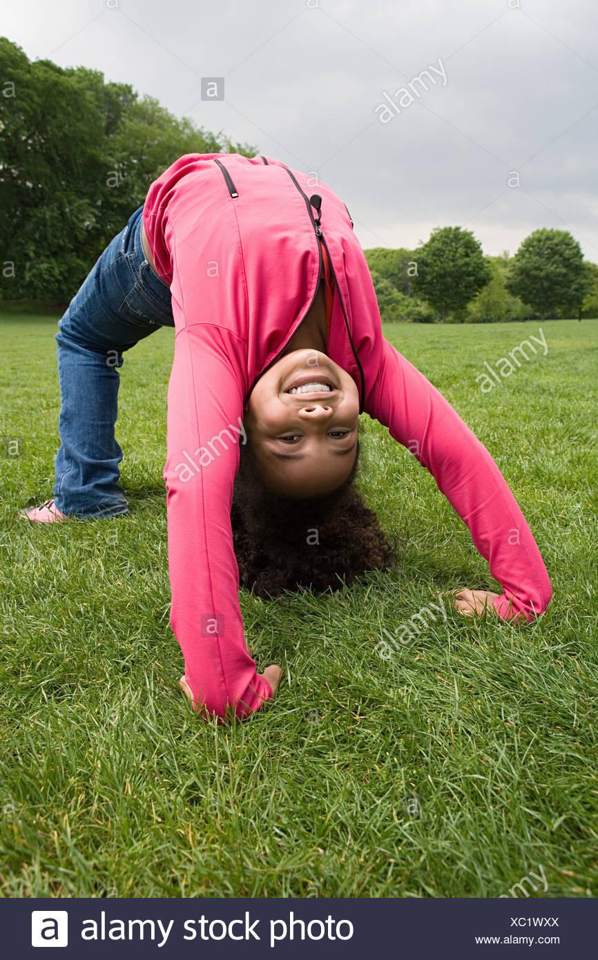 Idea Better teen girls bent over backwards