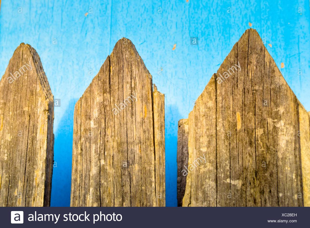 Wooden Picket Fence Stock Photos & Wooden Picket Fence