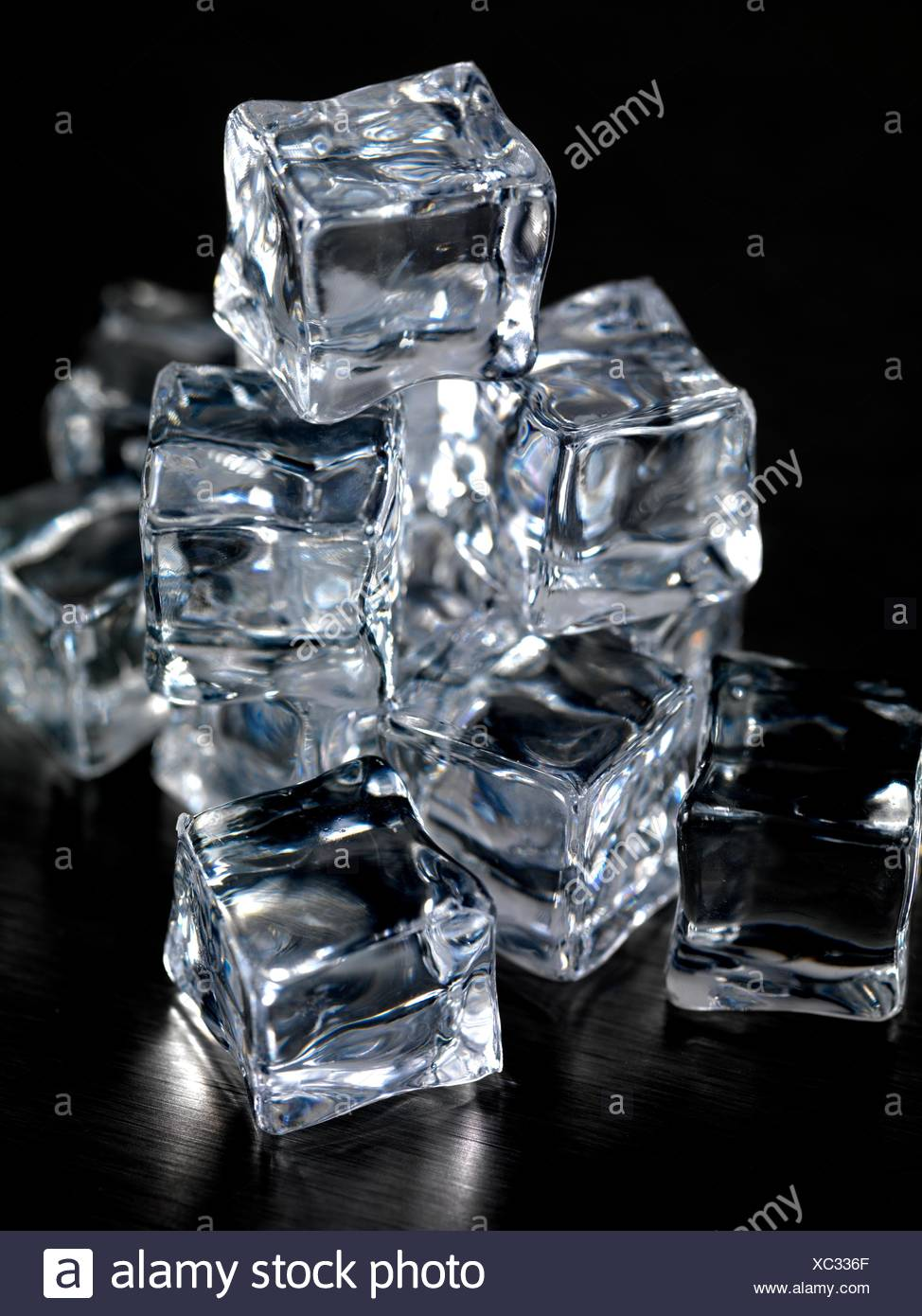 Pleasing Frozen Ice Cubes Isolated On A Kitchen Bench Stock Photo Pdpeps Interior Chair Design Pdpepsorg