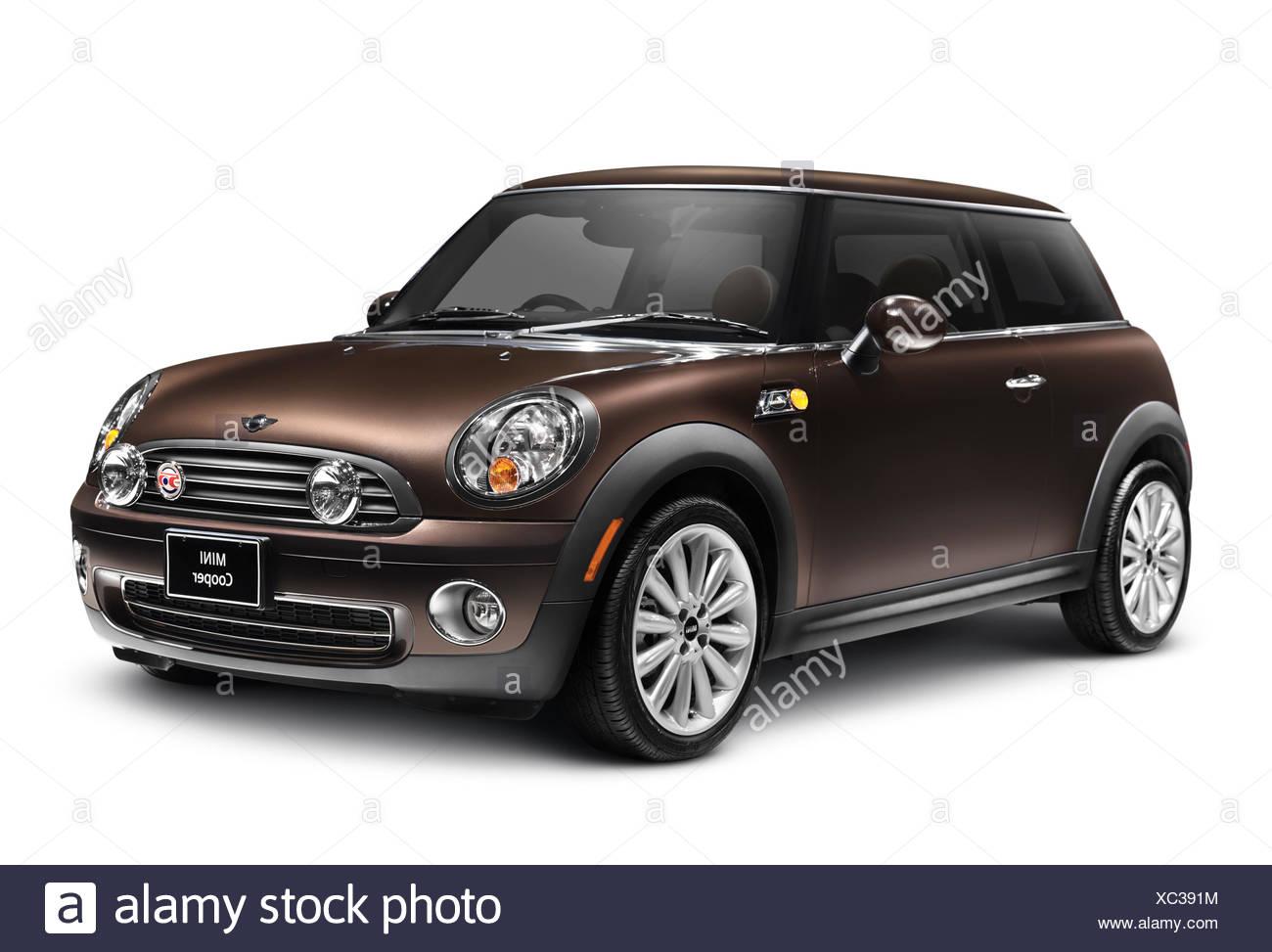 2010 Mini Cooper 50 Mayfair car - Stock Image